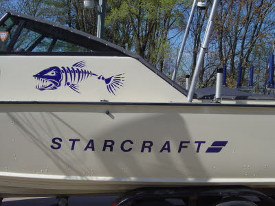 Starcraft Fishing Boat, Lettering and Graphics, Boat Lettering, Boat Graphics, Watercraft Numbers, Boat Lettering, Watercraft Numbers, Cabin Cruisers, Bow Riders, Speed Boats, Boat Graphics, Boat Decals, Boat Numbers, Fishing Boats, Hunting Boats, Flat Bo