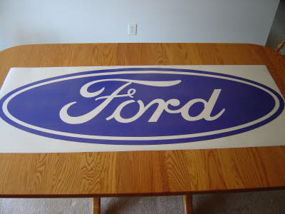 Large Ford Blue Oval Decals, Ford Trucks, Ford Racing, Mustang, Powerstroke, Ford Logo