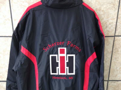 Embroidered Farm Logo, Ih, International Harvester Jacket