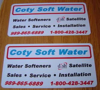 12x24 Magnetic Signs, Heavy Duty Magnetic Vehicle Sign, Magnetic Signs, Contractor Magnetic Signs