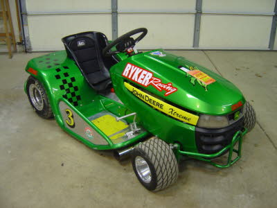 Ryker Racing, Stabil Logo, Lawnmower Racing Decals, Michigan Lawn Mower Racing Association