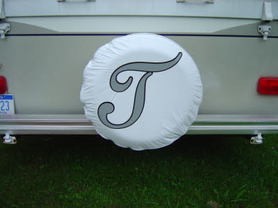 Personalized Tire Cover Decals, Camper Decals, Camper Graphics