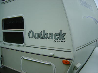 Outback Camper Decals, Camper Decals, Camper Graphics